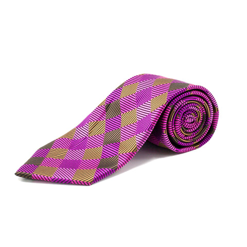 BQ PURPLE TIE SET