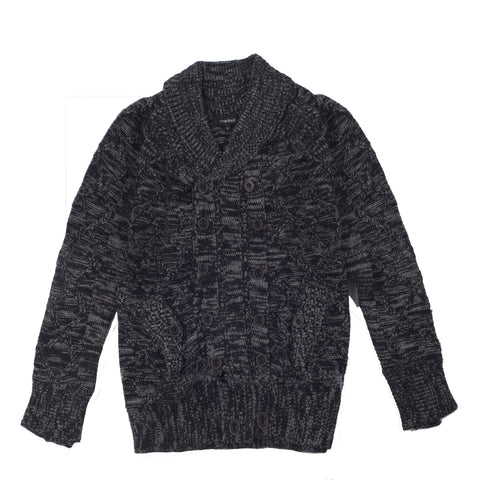 FASHION DOUBLE BREASTED SWEATER JACKET