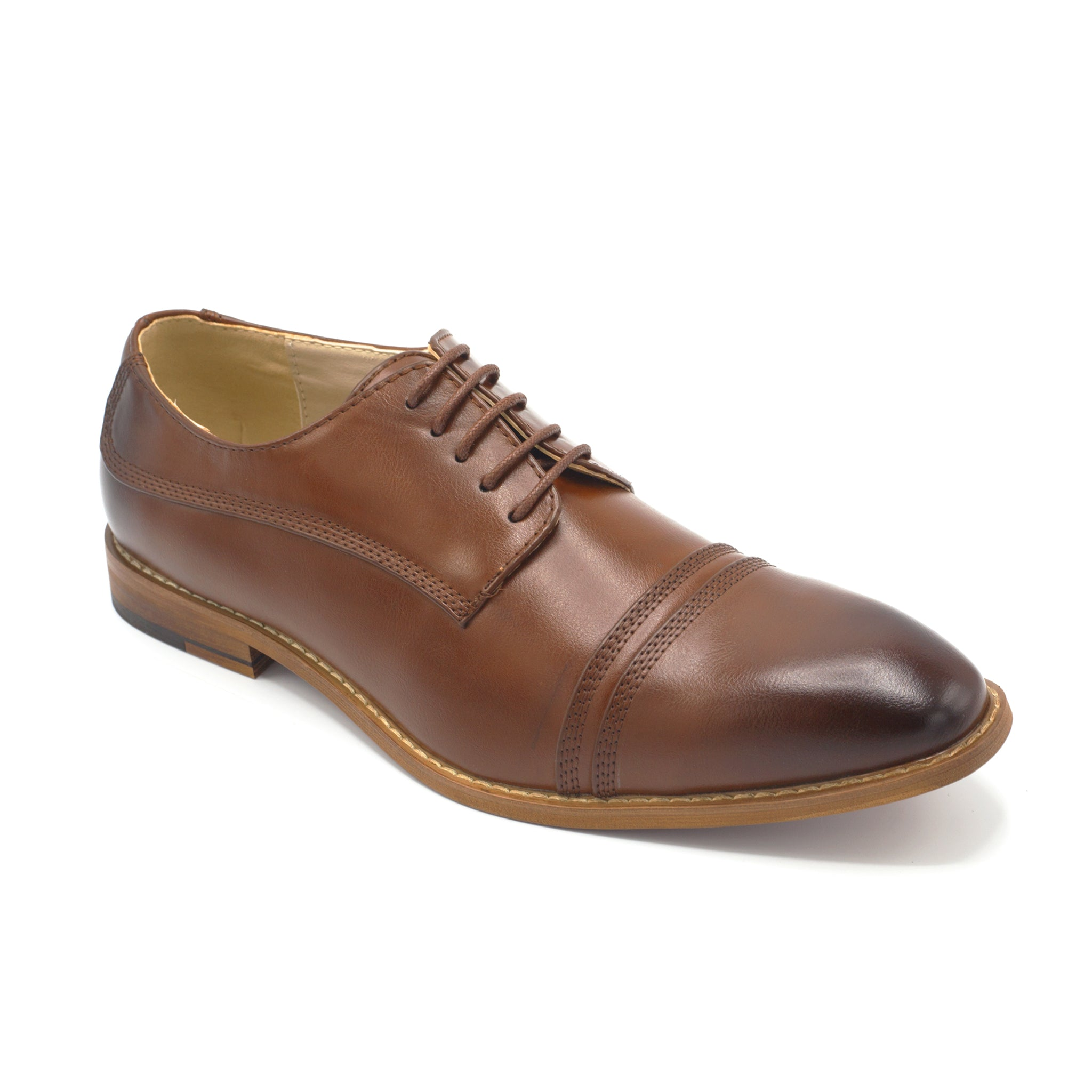 ANTONIO CERRELLI DRESS SHOES/COGNAC
