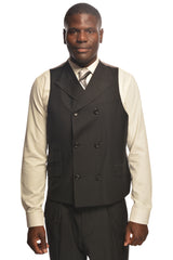 SANGIOVESSI BY TIGLIO BLACK SUIT & VEST