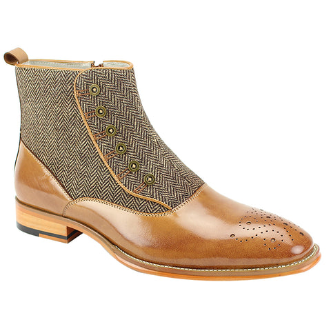 EDISON/GIOVANNI LEATHER BOOT / TAN
