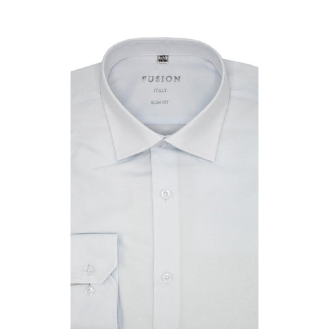 FUSION DRESS SHIRT / WHITE