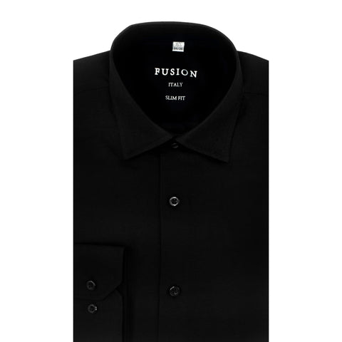 FUSION DRESS SHIRT BLACK