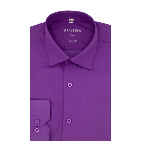 FUSION DRESS SHIRT LAVENDER