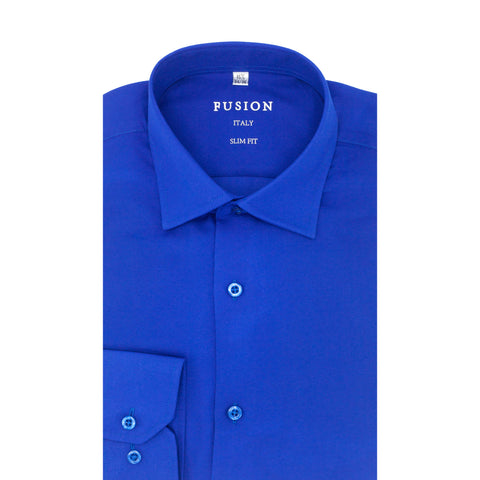 FUSION DRESS SHIRT BLUE