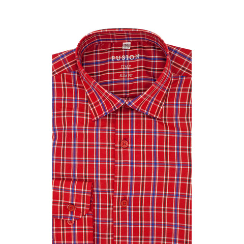 FUSION SPORT SHIRT RED