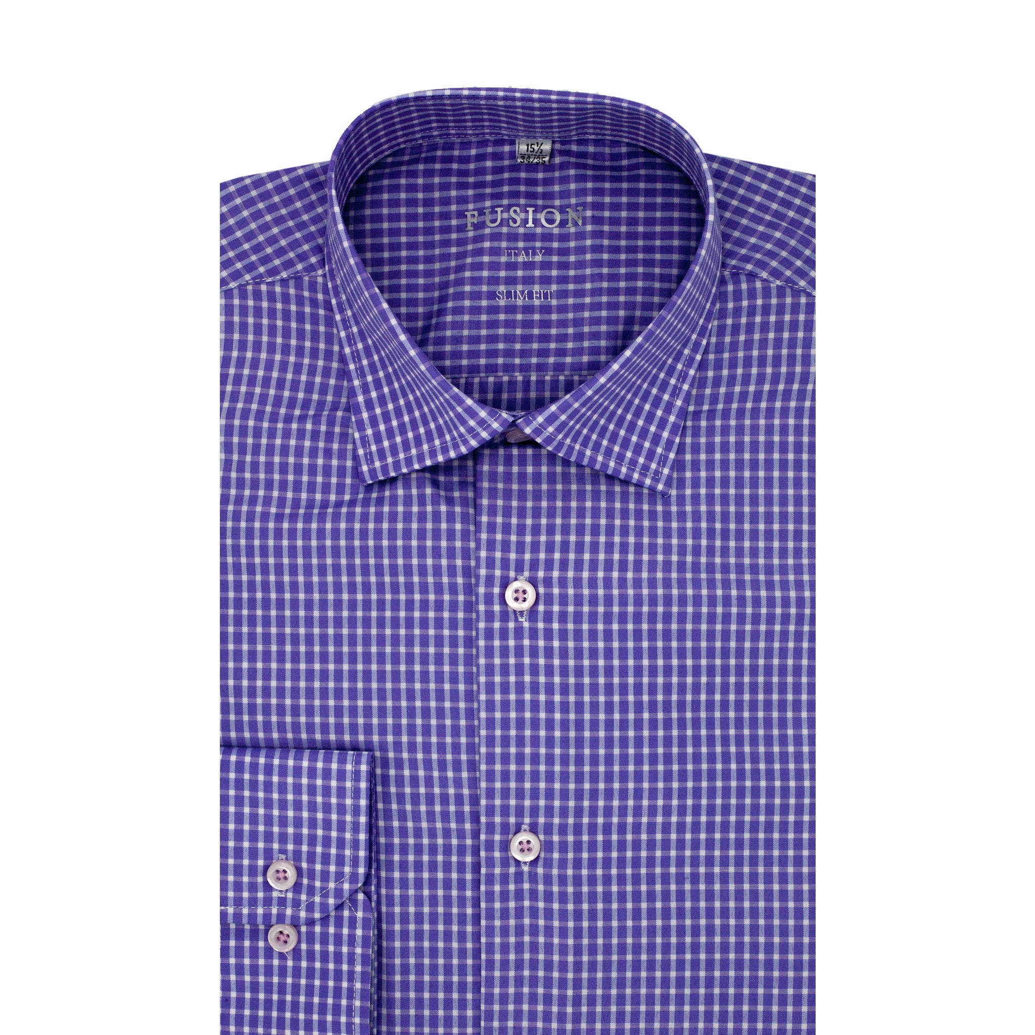 FUSION SPORT SHIRT PURPLE/BLUE