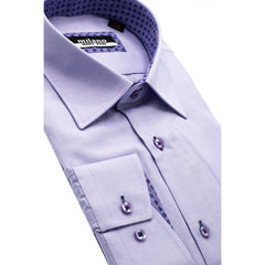 MILANO SOLID SPORT SHIRT LAVENDER