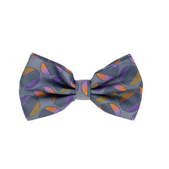 STACY ADAMS BOWTIE SET GREY / PURPLE