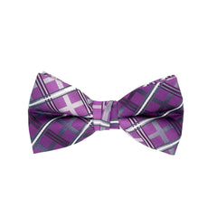 STACY ADAMS BOWTIE SET PURPLE / LAV