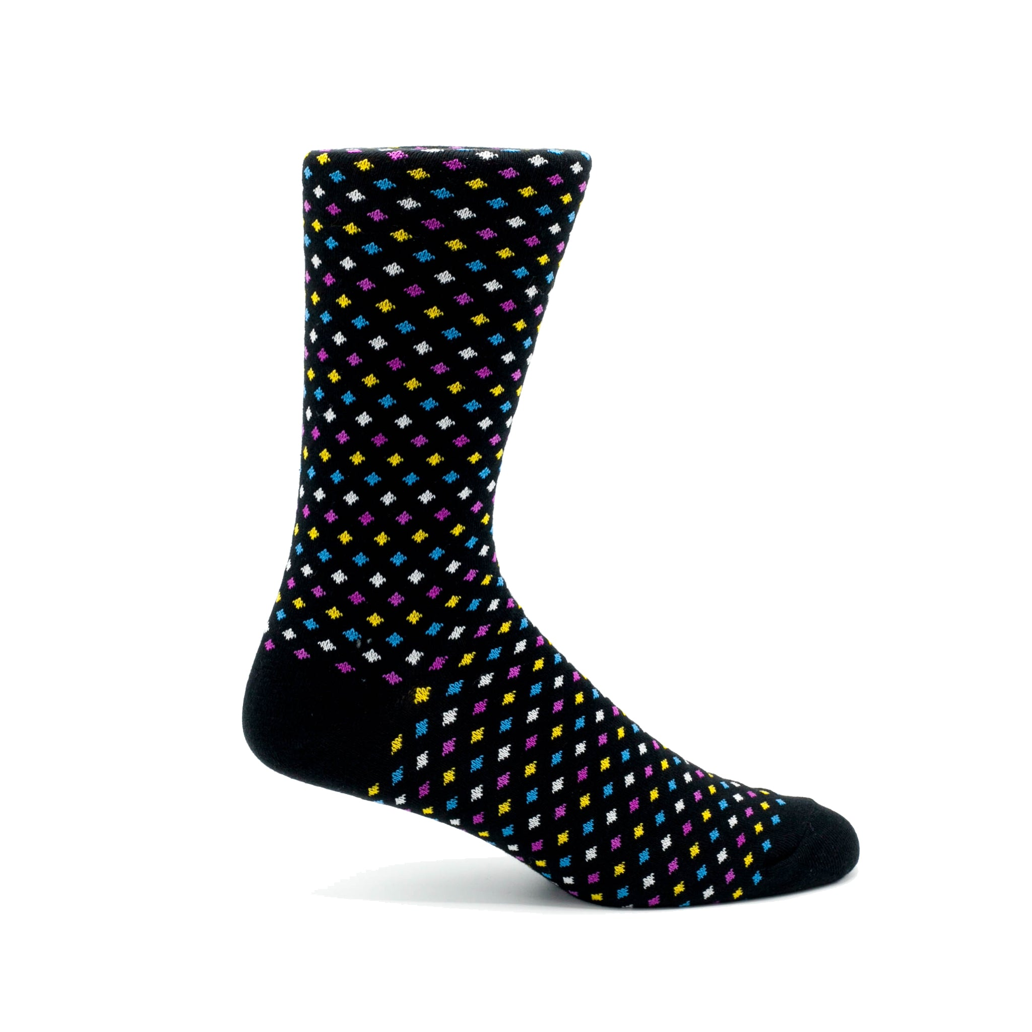 STEVEN LAND DOTS / BLACK