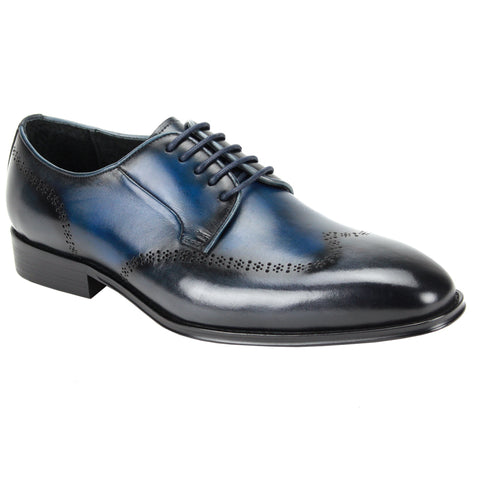 IVAN / GIOVANNI LEATHER BLUE/GREY