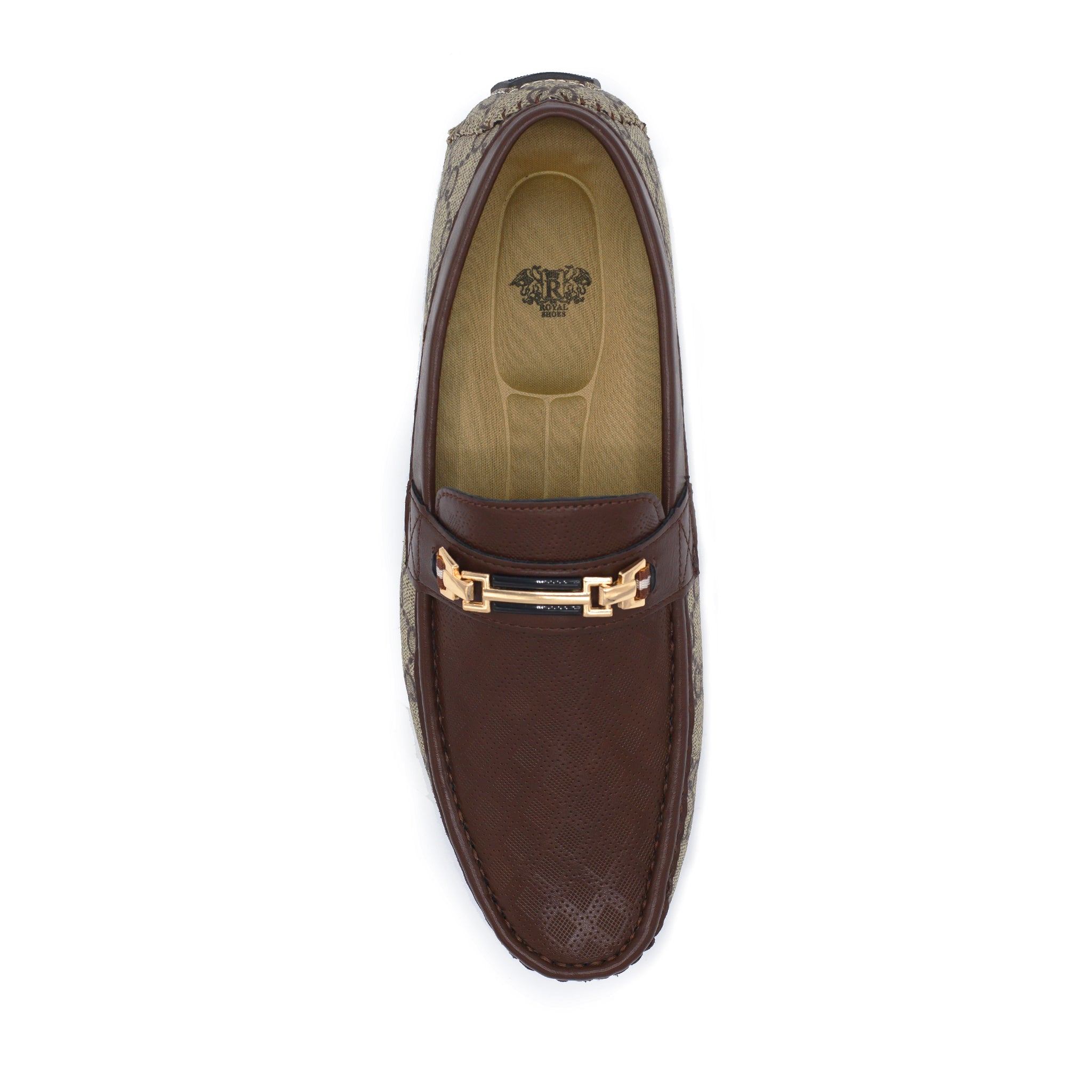 ROYAL CASUAL SHOES / 2-TONE BROWN