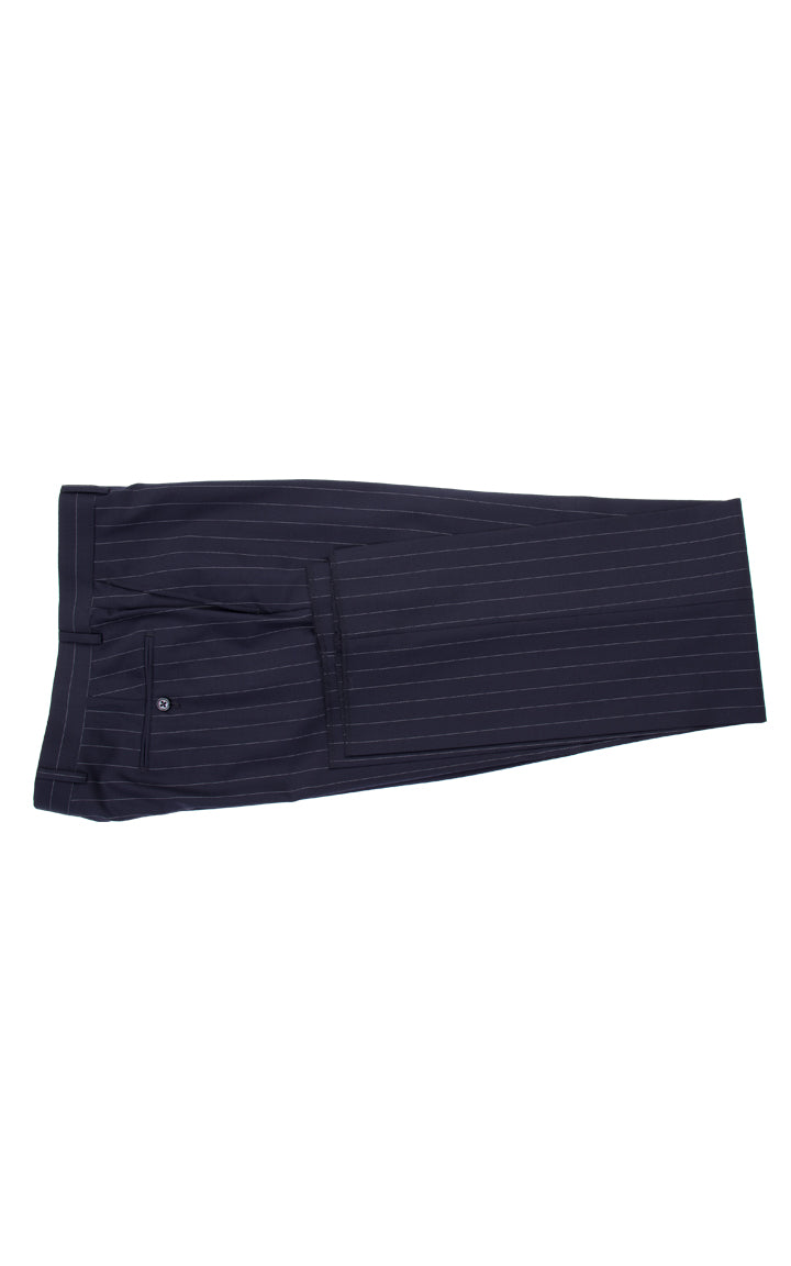 NOVELLO BY TIGLIO / NAVY PINSTRIPES