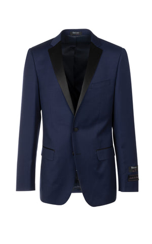 SIENNA SLIM FIT BLUE TUXEDO BY TIGLIO