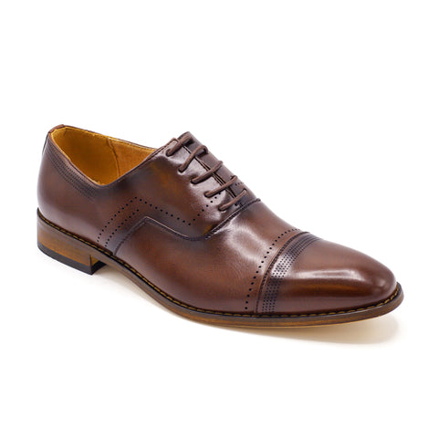 CAP TOE MENS SHOES