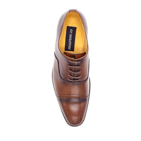 UV SIGNATURE CAP TOE BROWN