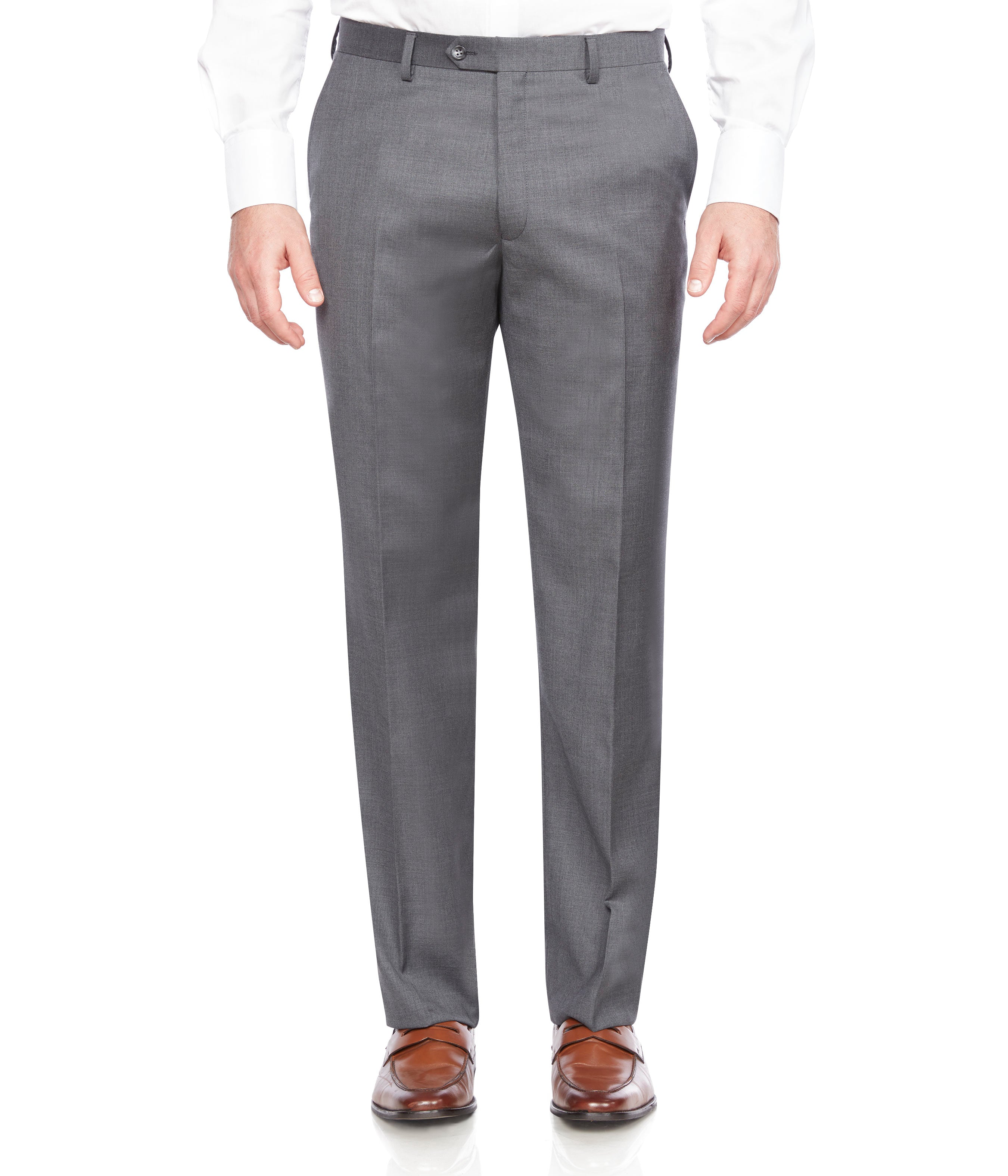 DRESS PANT GREY BY ZANETTI