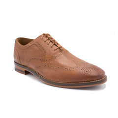 CAMBRIDGE WING OX BY COLE HAAN AMB YELLO DISTR