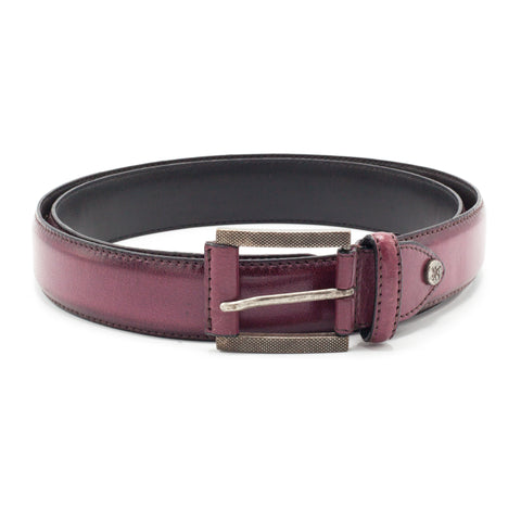 STACY ADAMS WINE BELT