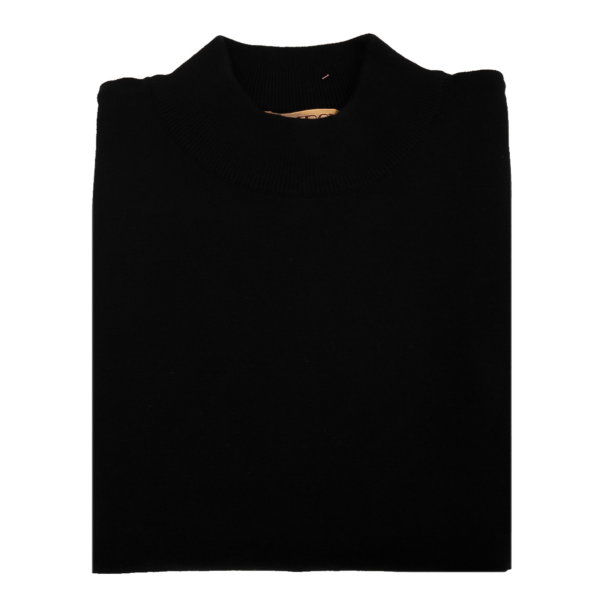 INSEARCH MOCK NECK SWEATER BLACK