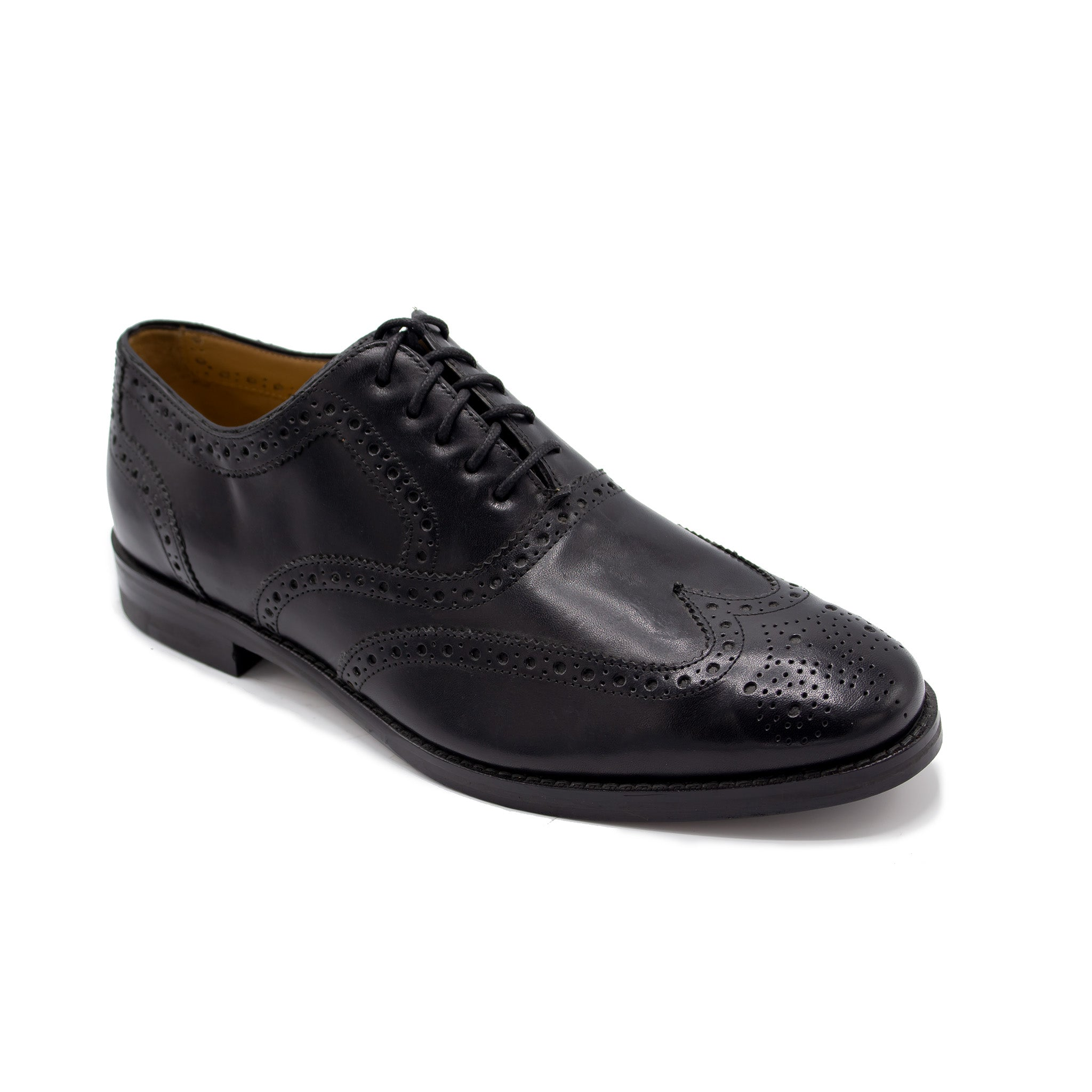 CAMBRIDGE WING OX BY COLE HAAN BLACK