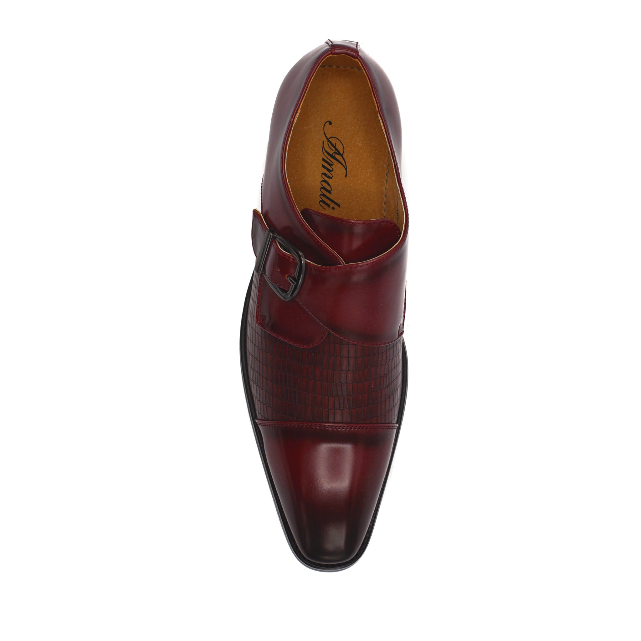 BRESSLER DRESS SHOES RED