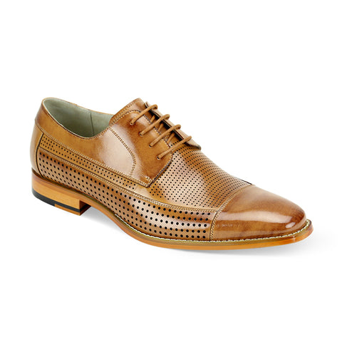 DIEGO / GIOVANNI LEATHER SHOES TAN