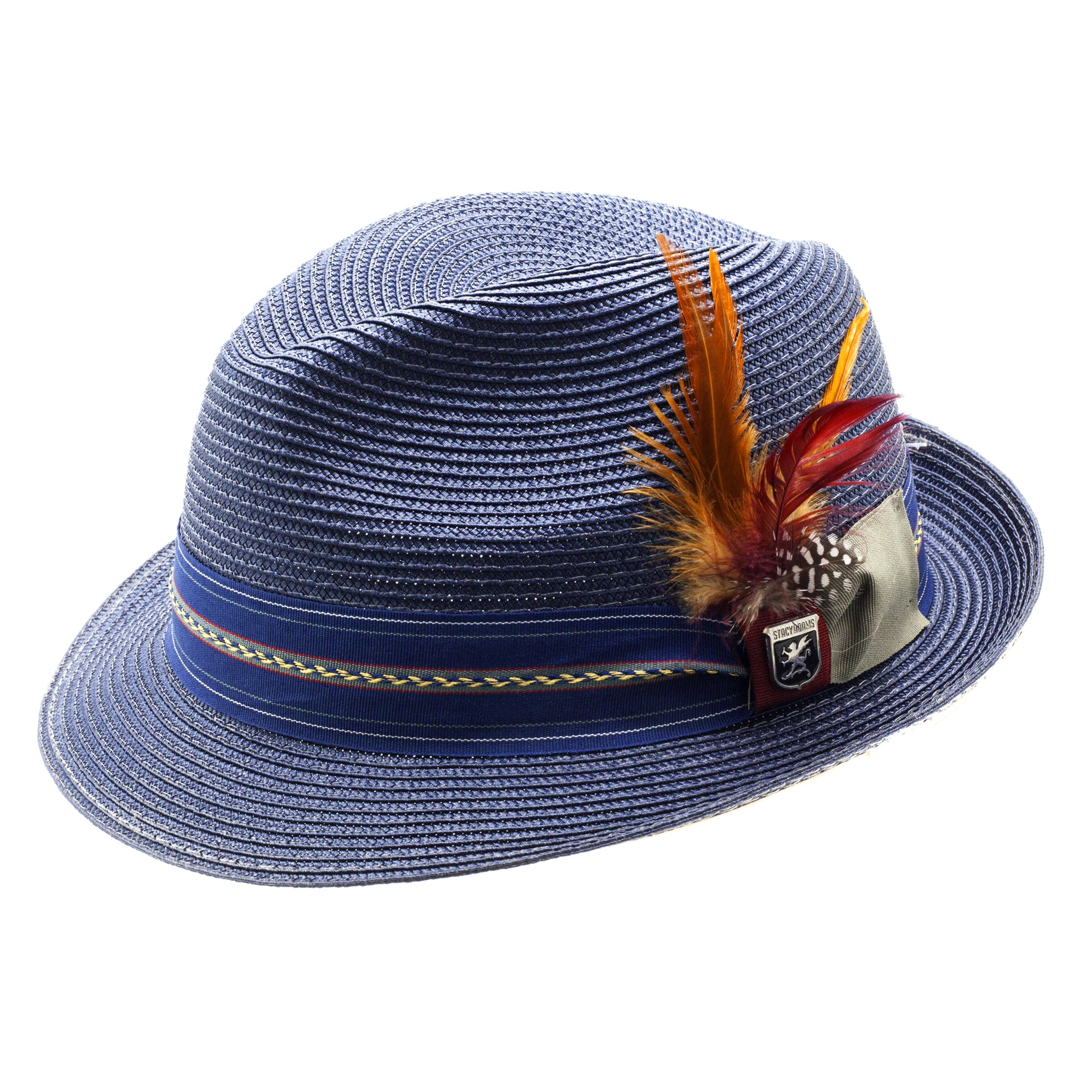 STACY ADAMS SPRING HAT / NAVY