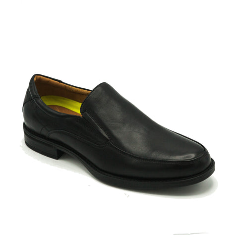 FLORSHEIM /MIDTOWN MOC TOE SLIP ON - BLACK
