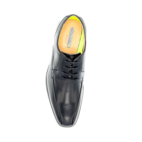 FLORSHEIM /HEIGHTS BIKE TOE OXFORD BLACK