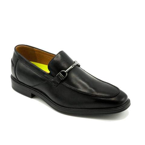 FLORSHEIM /HEIGHTS MOC TOE BIT SLIP ON - BLACK