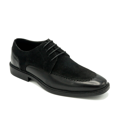 OXFORD SPLIT TOE BLACK SHOES