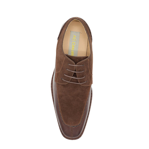 OXFORD SPLIT TOE BROWN SHOES