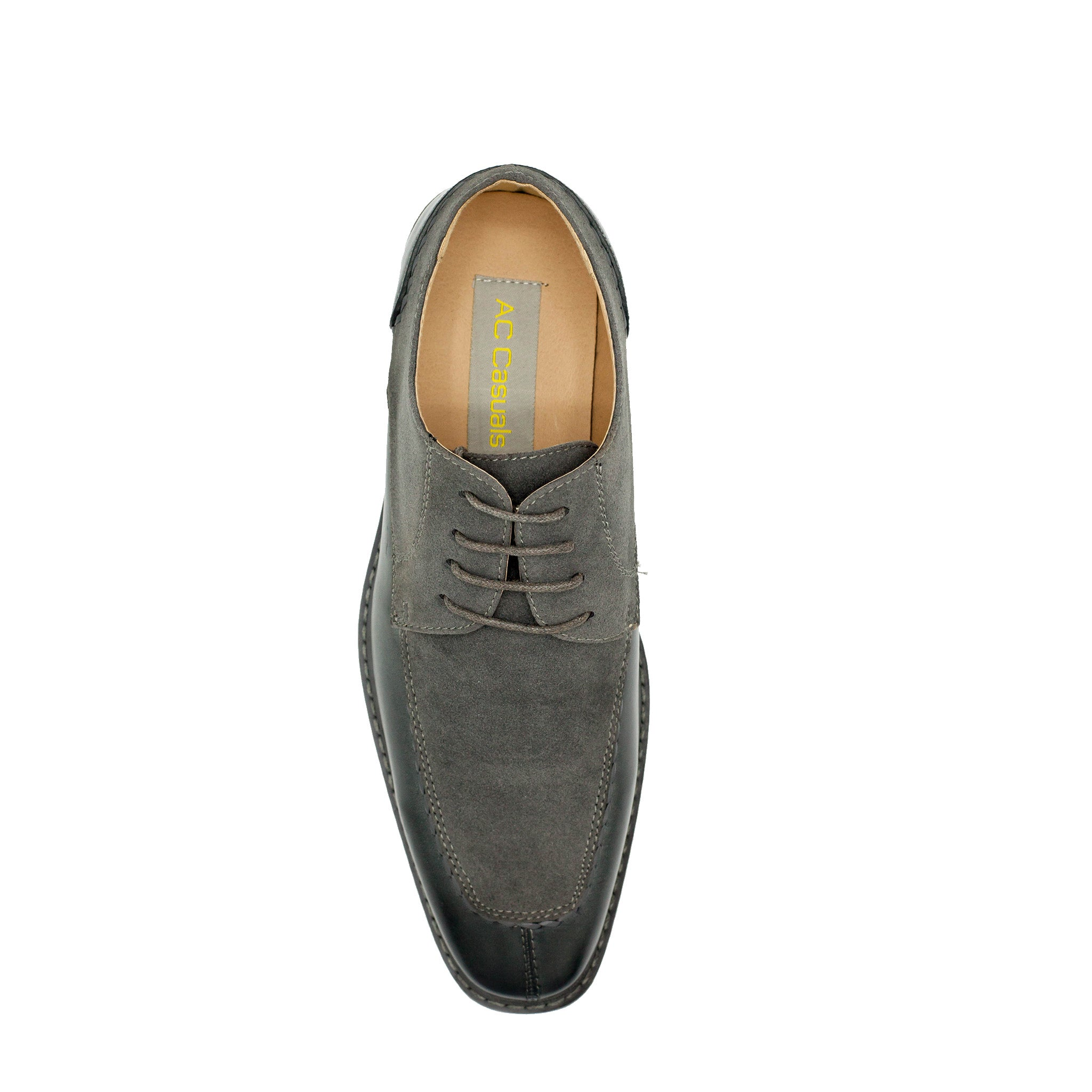 OXFORD SPLIT TOE GREY SHOES