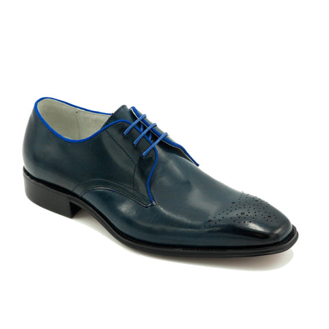 COLE LEATHER LACE UP DRESS SHOES