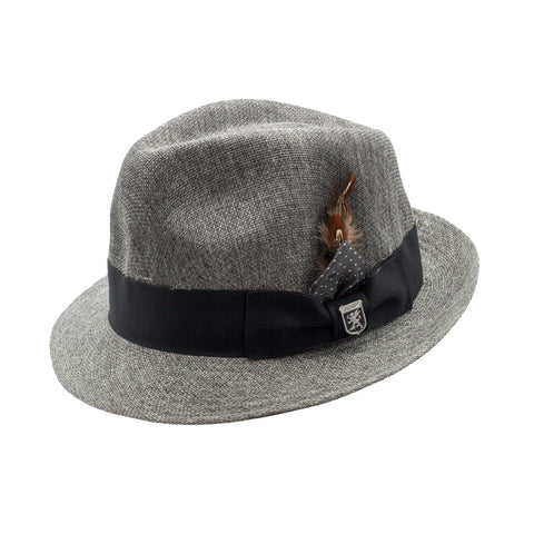 STACY ADAMS SPRING HAT / GREY