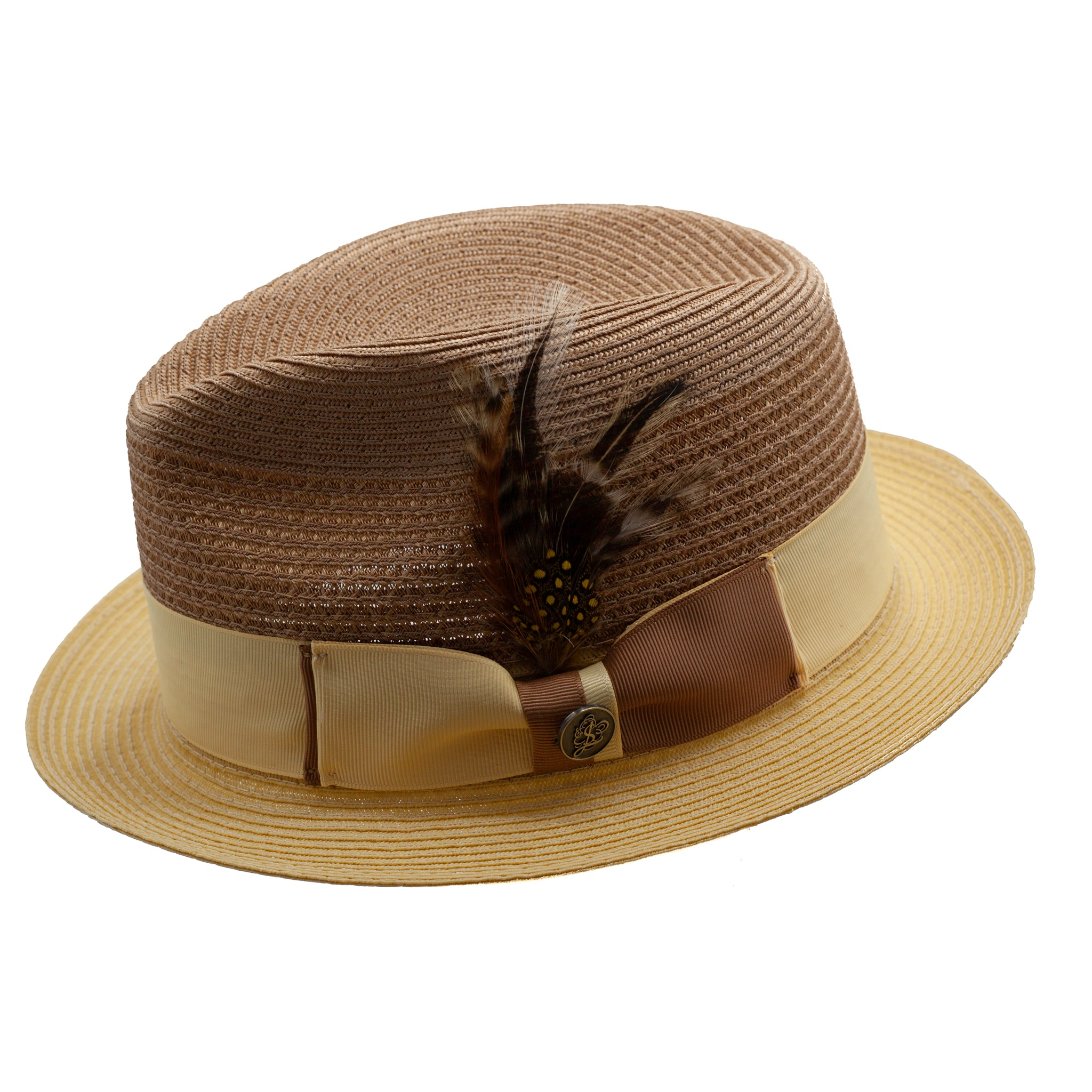 STACY ADAMS SPRING HAT / TAN