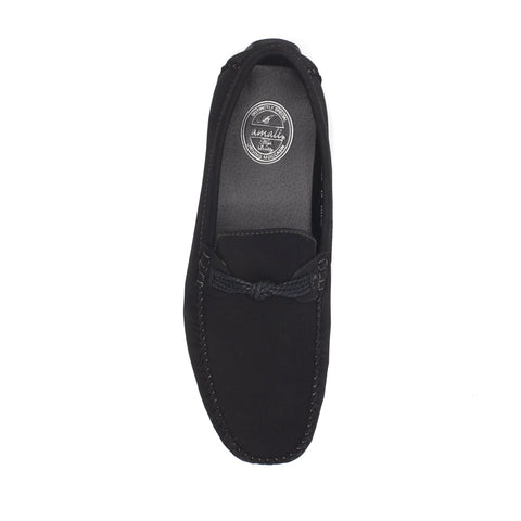 KNOTTER CASUAL SHOES BLACK