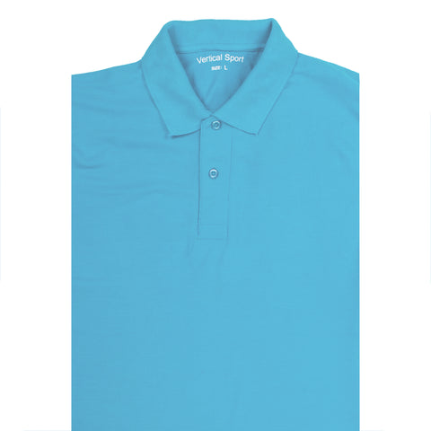 VERTICAL SPORTS POLO BLUE
