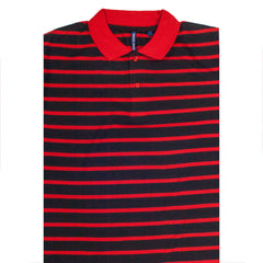 TRUE ROCK POLO SHIRT RED/BLACK