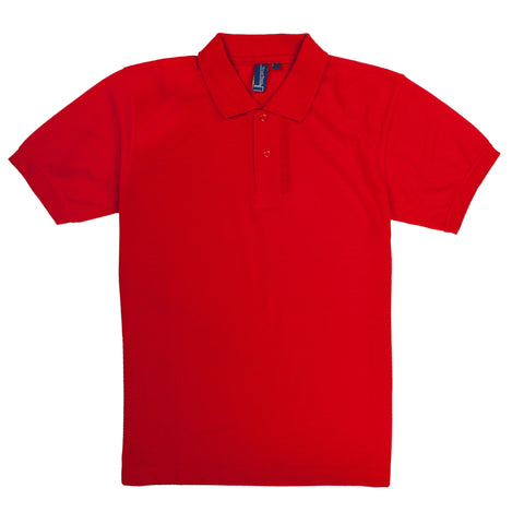 TRUE ROCK POLO SHIRT SOLID RED