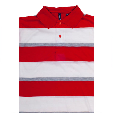 TRUE ROCK POLO SHIRT RED