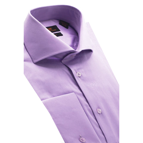STEVEN LAND LILAC DRESS SHIRT