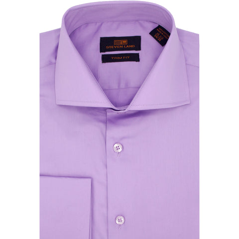 STEVEN LAND SOLID LILAC SHIRT
