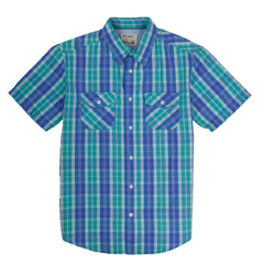 PD&C SHORT SLEEVE SHIRT GREEN