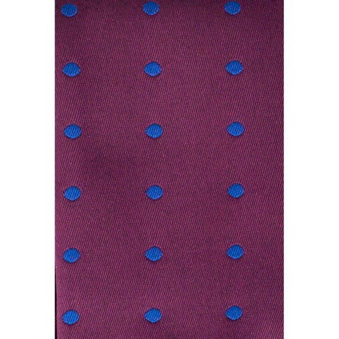IU DOTS TIE SET - PURPLE