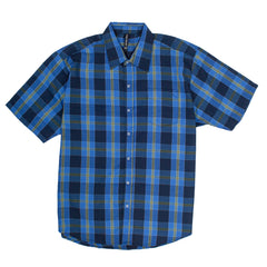 TRUE ROCK SHORT SLEEVE SHIRT BLUE