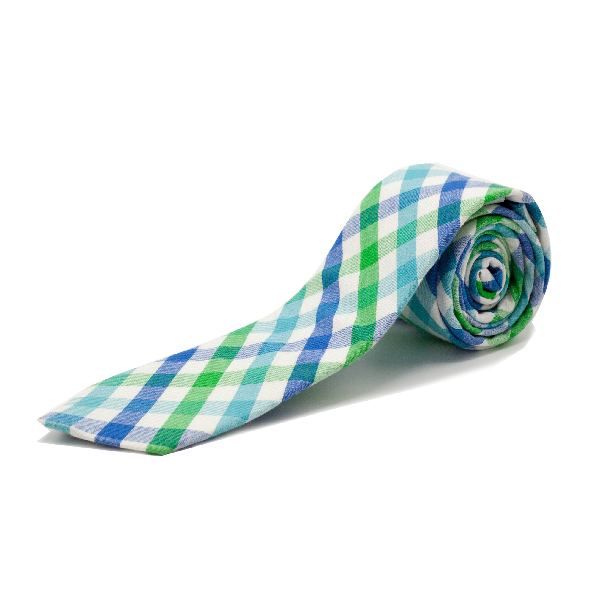 STACY ADAMS CHECK TIE SET- GREEN