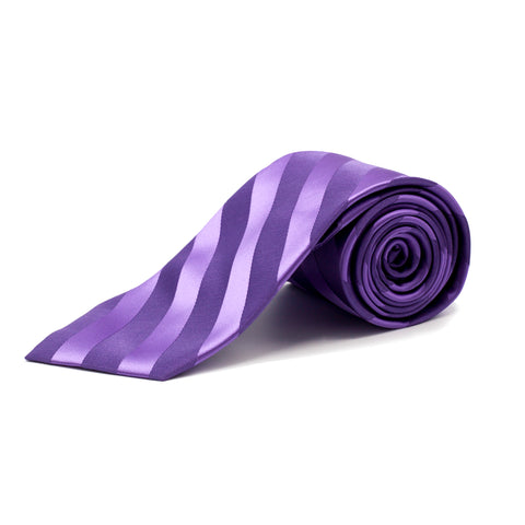 STACY ADAMS 2-TONE TIE SET PURPLE